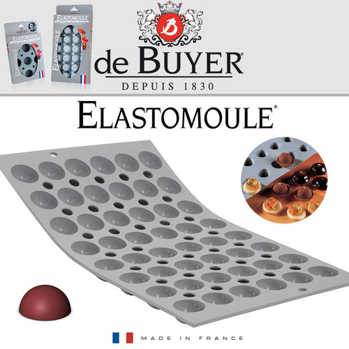 de Buyer - ELASTOMOULE - 48 Mini Halbkugeln