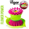 Vigar - Cup brush Flower - pink