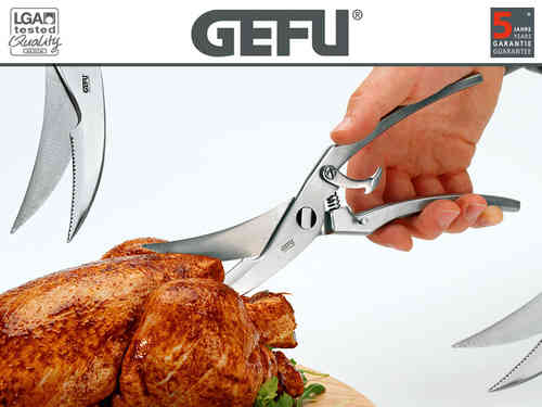 Gefu - Spring-loaded poultry shears