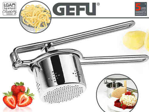 Gefu - Potato press and juice press round