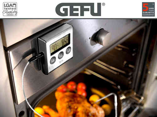 Gefu - Digitales Backofenthermometer TEMPERE