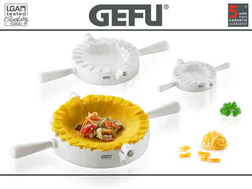 Gefu - Ravioli - Pasta-case mould former set