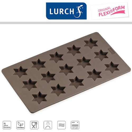 LURCH FlexiForm Cinnamon Star 17,5 x 30 cm