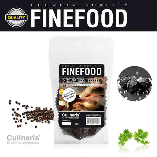 Culinaris - Black Pepper - 80g