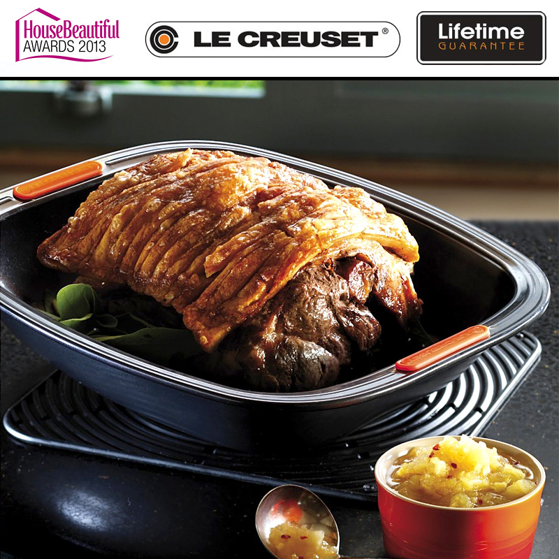 le creuset brat auflaufform 33 cm culinaris. Black Bedroom Furniture Sets. Home Design Ideas