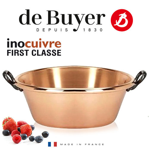 de Buyer - Copper Conical Jam Pan