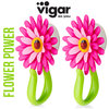 Vigar - Haken-Set Flower Power 2-tlg. Pink