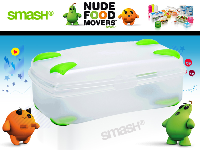 Smash - Nude Food Movers - Lunch Box 1,4 L