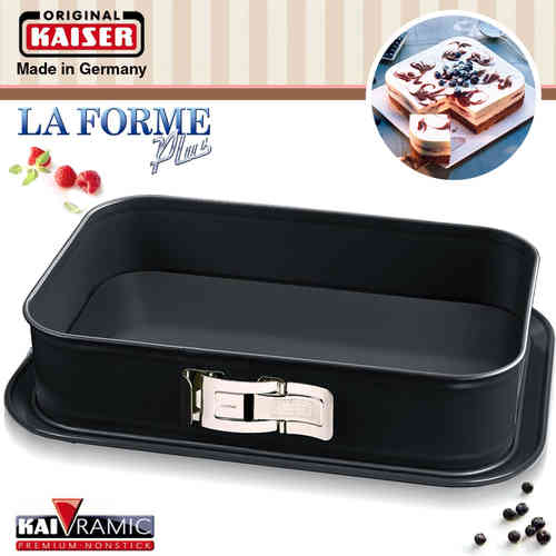 Kaiser - La Forme plus - Springform pan rectangular 35 x 24 cm