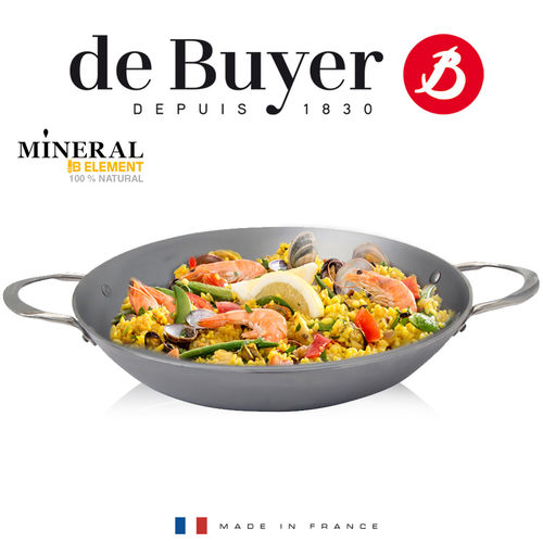 de Buyer - Paella Pan 32 cm - Mineral B Element