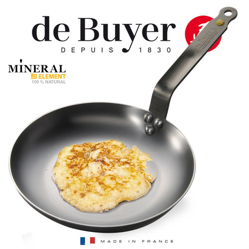 de Buyer - Omelette pan 24 cm - Mineral B Element