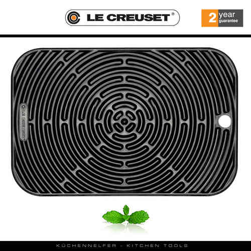 Le Creuset - Multimat, Rectangular Classic - Black