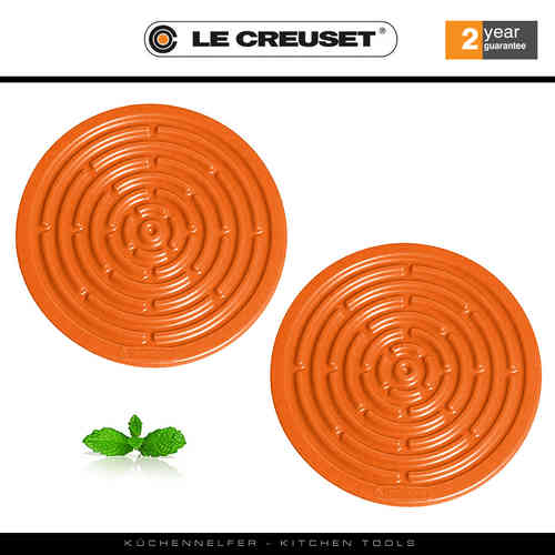 Le Creuset - Multimat, mini round - Set of  2 - Flame