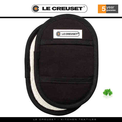 Le Creuset - Fingertip Potholders Set of 2 - Black