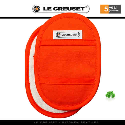 Le Creuset - Fingertip Potholders Set of 2 - Flame