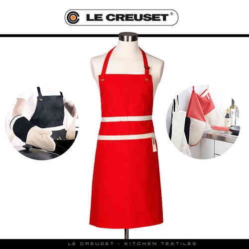 Le Creuset - Chef's Apron - Red