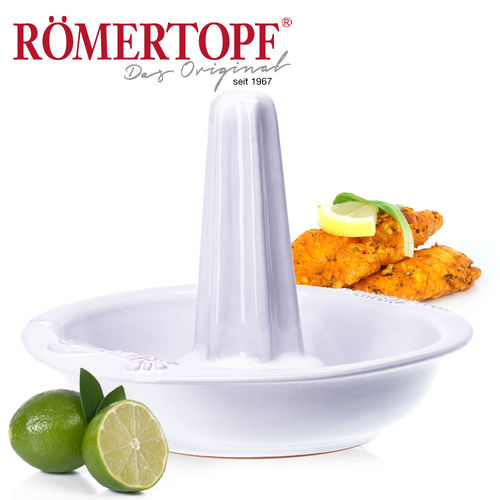 Römertopf - Chicko Chicken roaster - white