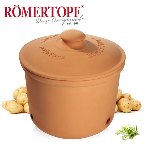 Römertopf - Storage box for potatoes