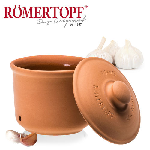 Römertopf - Storage box for garlic