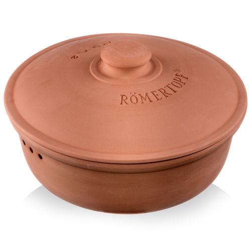 Römertopf - Bread pot round terracotta