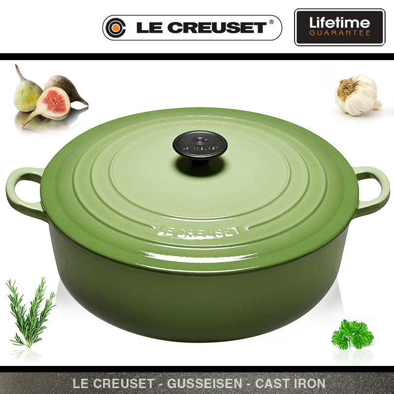 Le Creuset Wide French Oven 30 Cm Rosemary