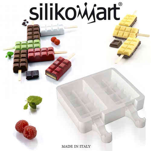 Silikomart - Ice Ice shape wafer