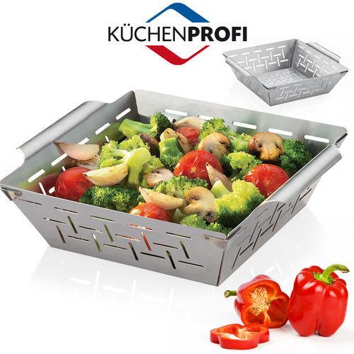 Küchenprofi - BBQ  basket, high