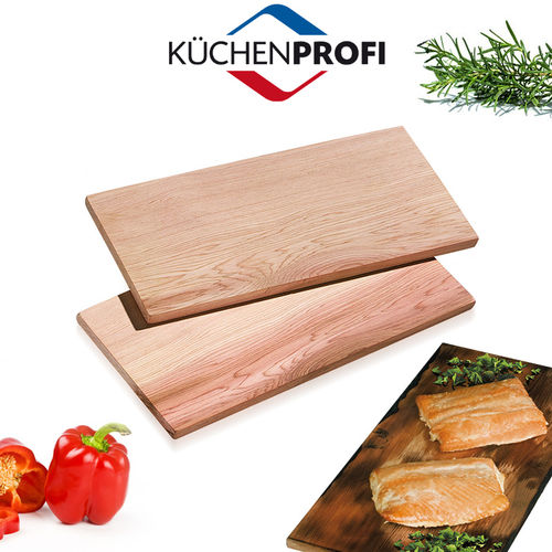 Küchenprofi - BBQ Grill Board Smoky Set of 2 - small