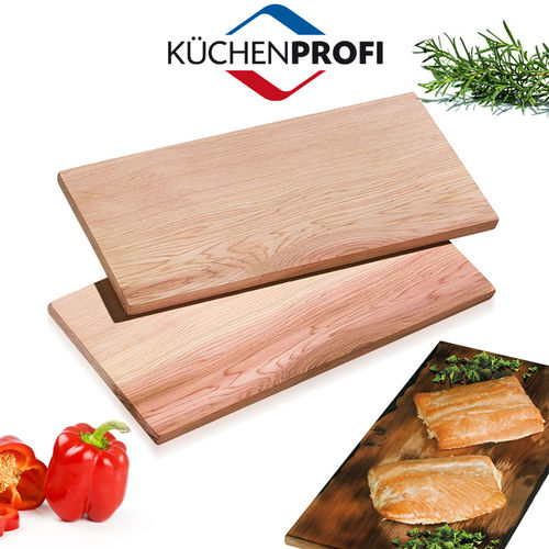 Küchenprofi - BBQ Grill Board Smoky Set of 2 - medium