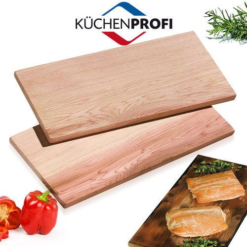 Küchenprofi - BBQ Grill Board Smoky Set of 2 - large