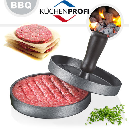 Küchenprofi - BBQ - Hamburger Press - Ø 12 cm