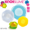 Kochblume - Stretchi - 4 pcs - 4 sizes - Multicolored mixed