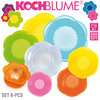 Kochblume - Stretchi - 8 pcs - 4 sizes - Multicolored mixed