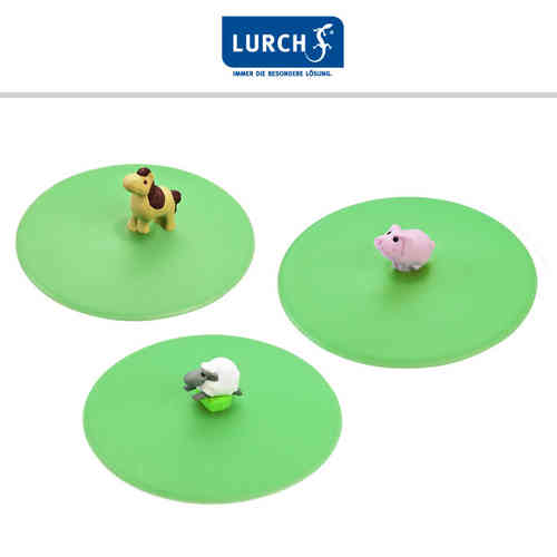 Lurch - Glass Lid Farm Animals