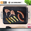 Le Creuset - Meat Grill with ribs - 34x25 cm - Non-Stick