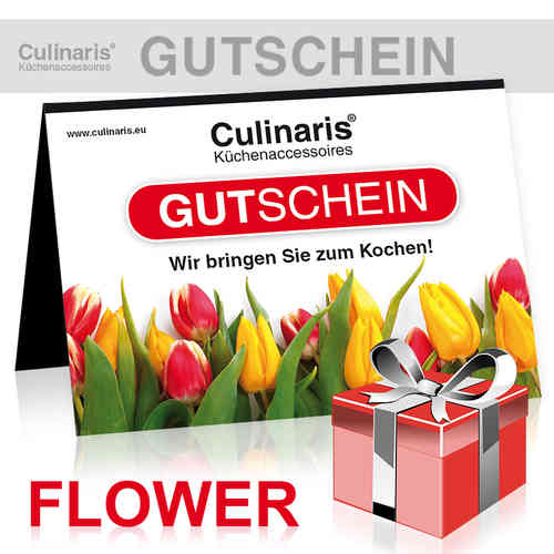Online-Shop - Gift Coupon - Design Flower