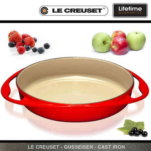 Le Creuset - Tarte Tatin Backform 28 cm - Red