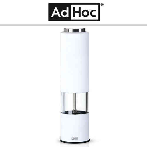 AdHoc - Electric pepper or salt mill TROPICA - white