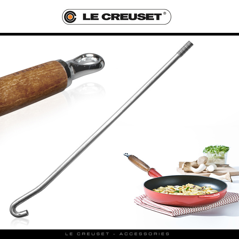 Le Creuset Hook For Handle Frying Pan Cookfunky