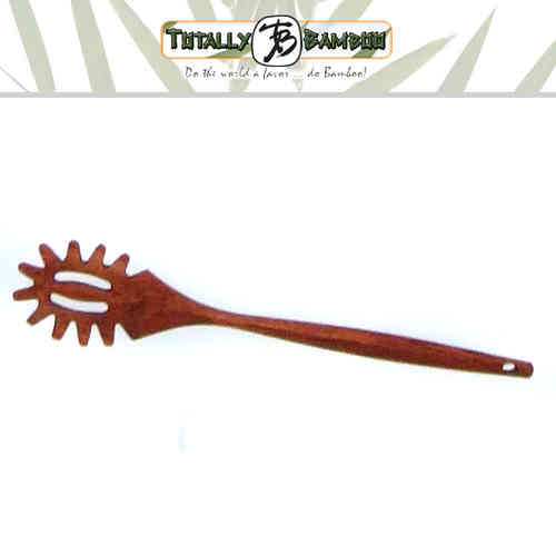 Totally Bamboo - Pasta Spoon Coffee 35 cm