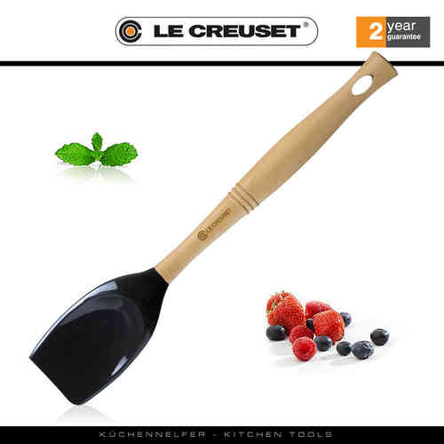 Le Creuset - Wooden Spoon - Premium Edition - Black