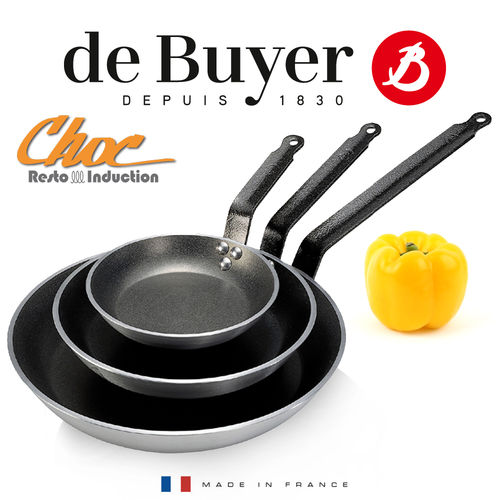 de Buyer - CHOC RESTO INDUCTION - Non-Stick round Frypan