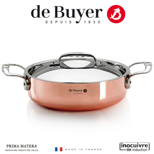 de Buyer - Copper Braiser - Prima Matera