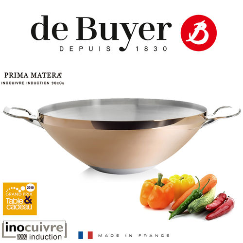 de Buyer - Copper WOK 32 cm - Prima Matera