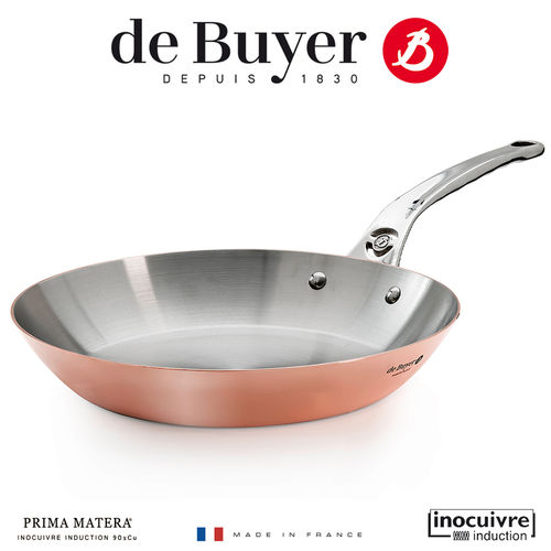 de Buyer - Copper Pan - Prima Matera - Inocuivre