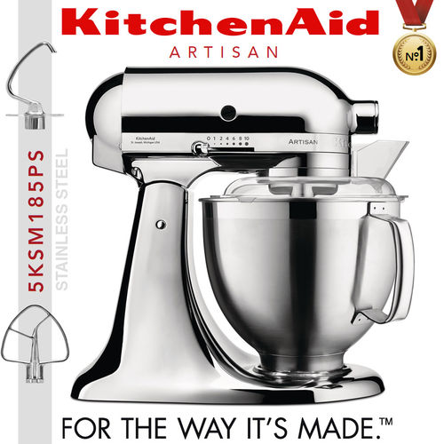 KitchenAid - Artisan Küchenmaschine 5KSM185PS - Chrome