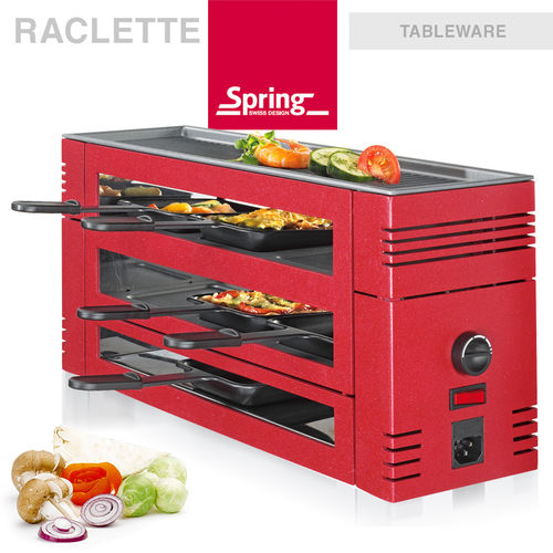 Spring - Pizza Raclette 6 - Red