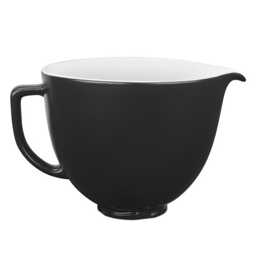 KitchenAid - 4.8 L Ceramic Bowl - Black