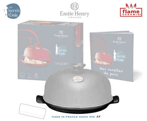 Emile Henry - Bread Cloche Set Replacement Plate - Coal