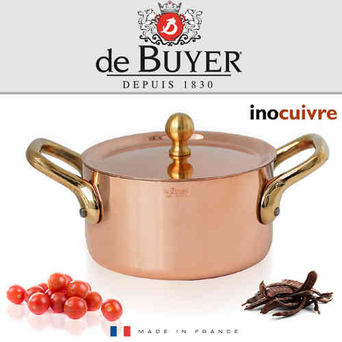 de Buyer - Kupfer Mini Bratentopf 10 cm